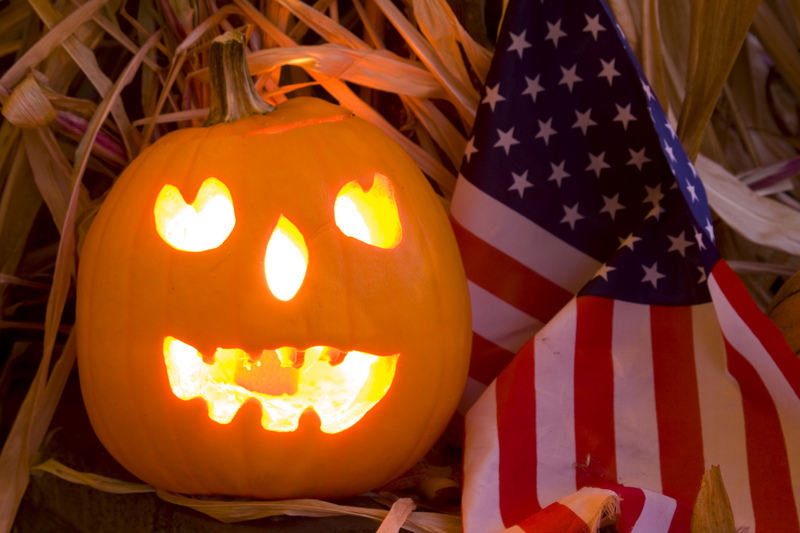 Americans have made Haolloweeninto a consumer's hioliday that is starting to rival Christmas.