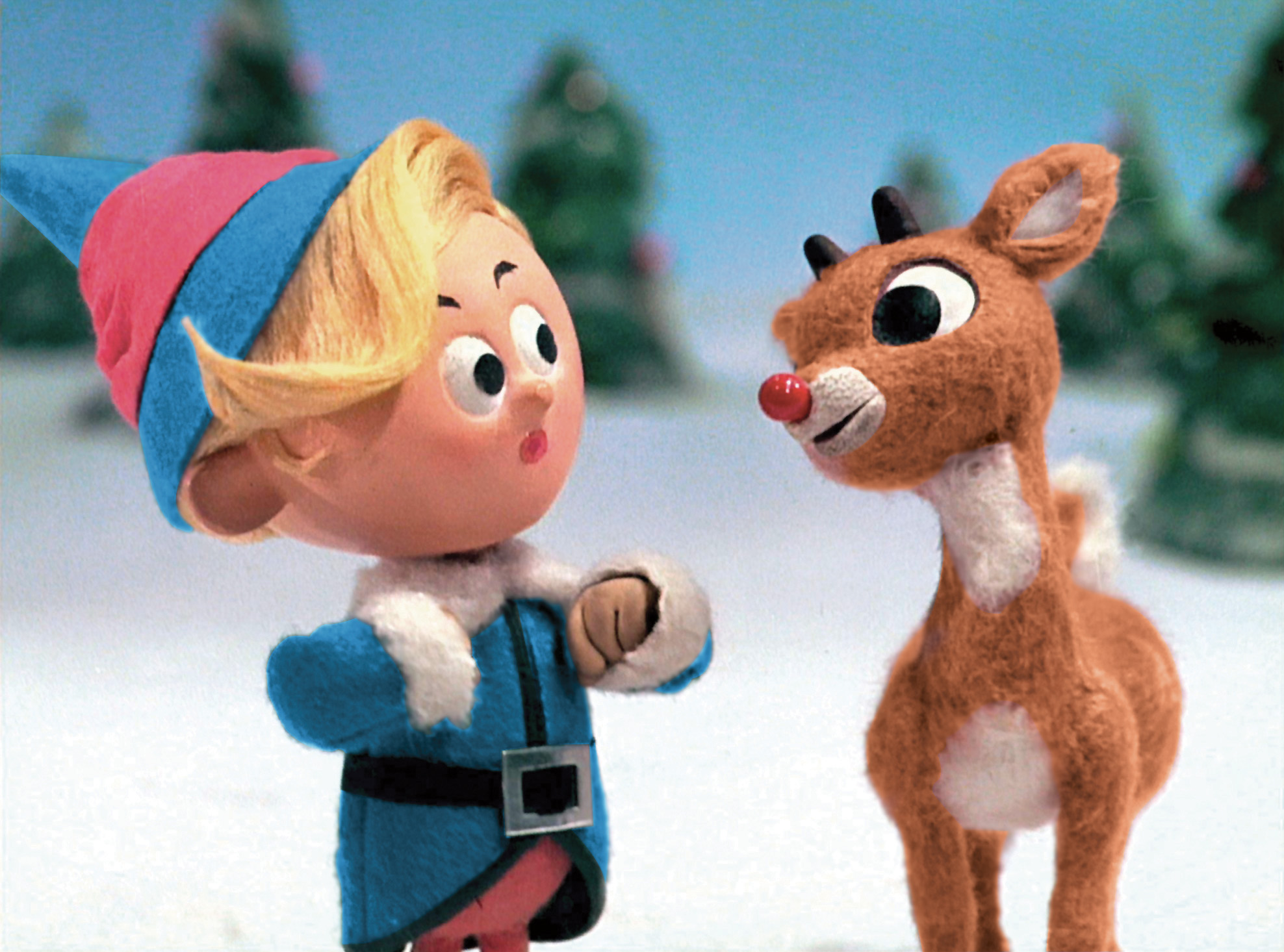 Rankin Bass's curiously cruel yet relentlessly classic take on Rudolph the Red-Nosed Reindeer.