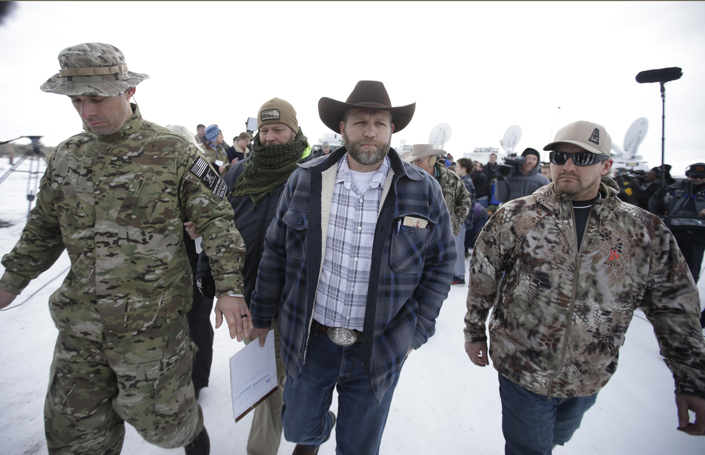 Ammon Bundy, a guy tasked with an incoherant, ahistorical ideology laced with the occassional legitimate grievance.