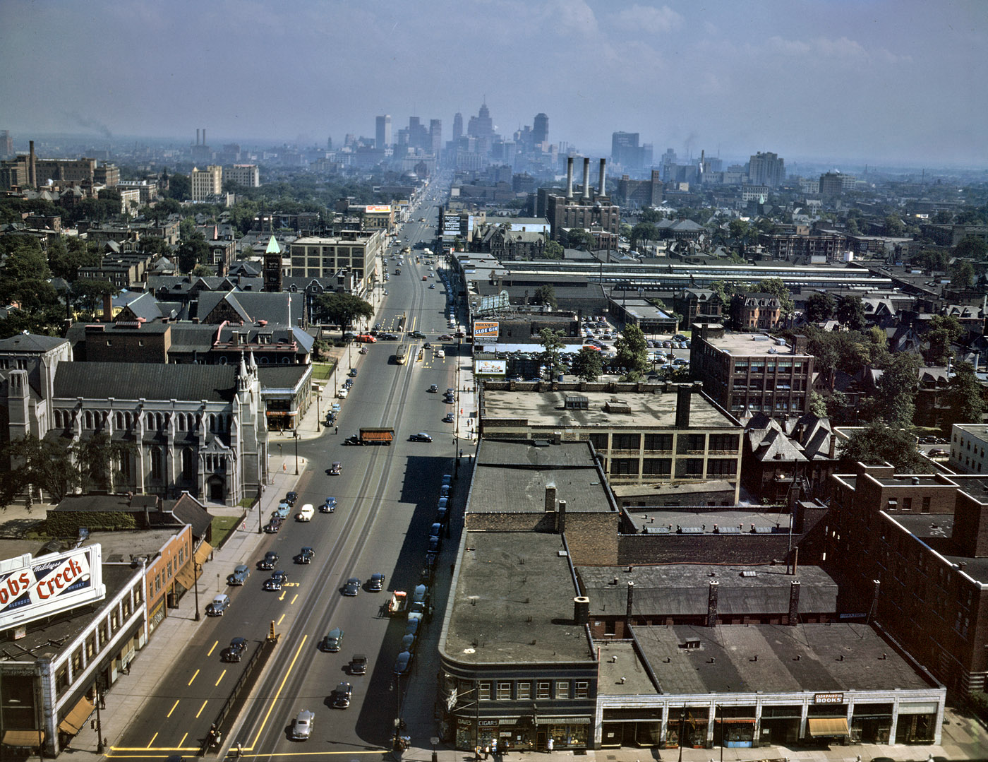 American manufacturing cities like Detroit (pictured here in 1942) have been decimated by race-to-the-bottom policies.