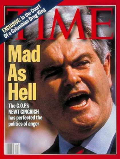 Newt Gingrich's politics-as-war approach opened the doors for later demagogues like Trump.