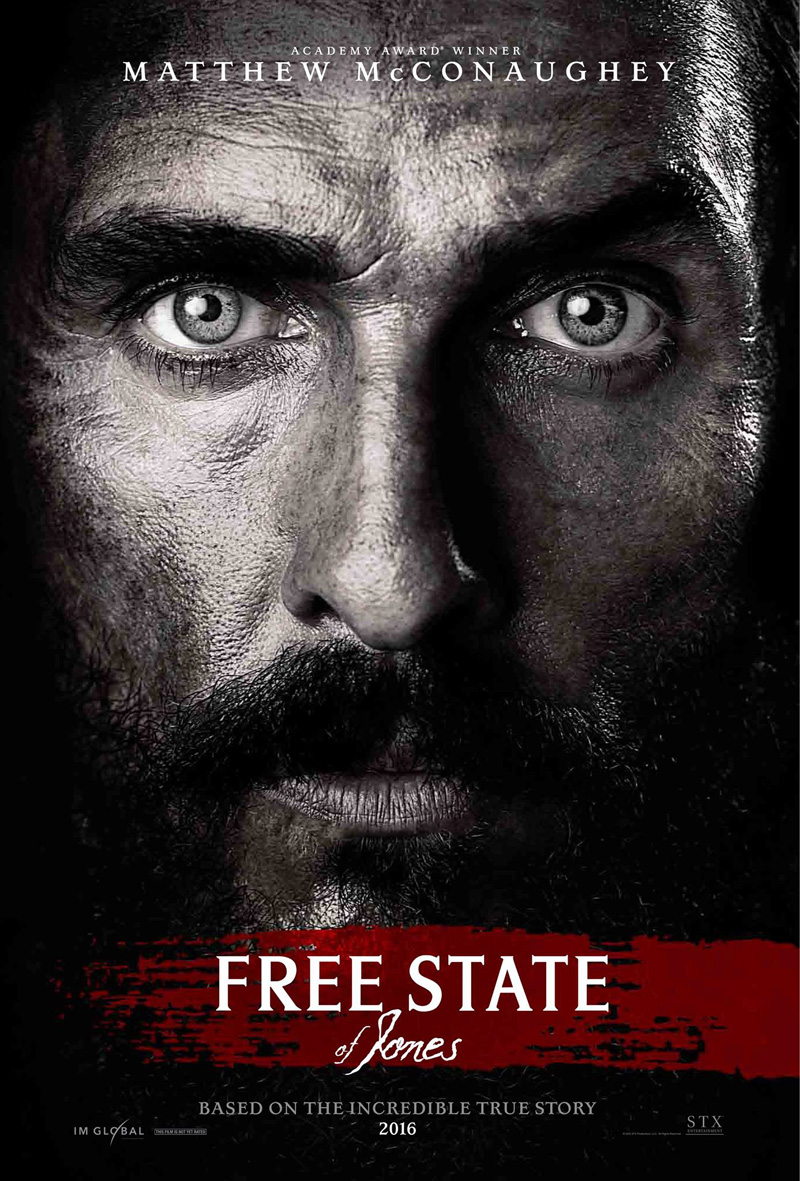 """Free State of Jones"" is genuinely bold filmmaking in its refusal to romanticize a the violence and terrorism of war and its aftermath."