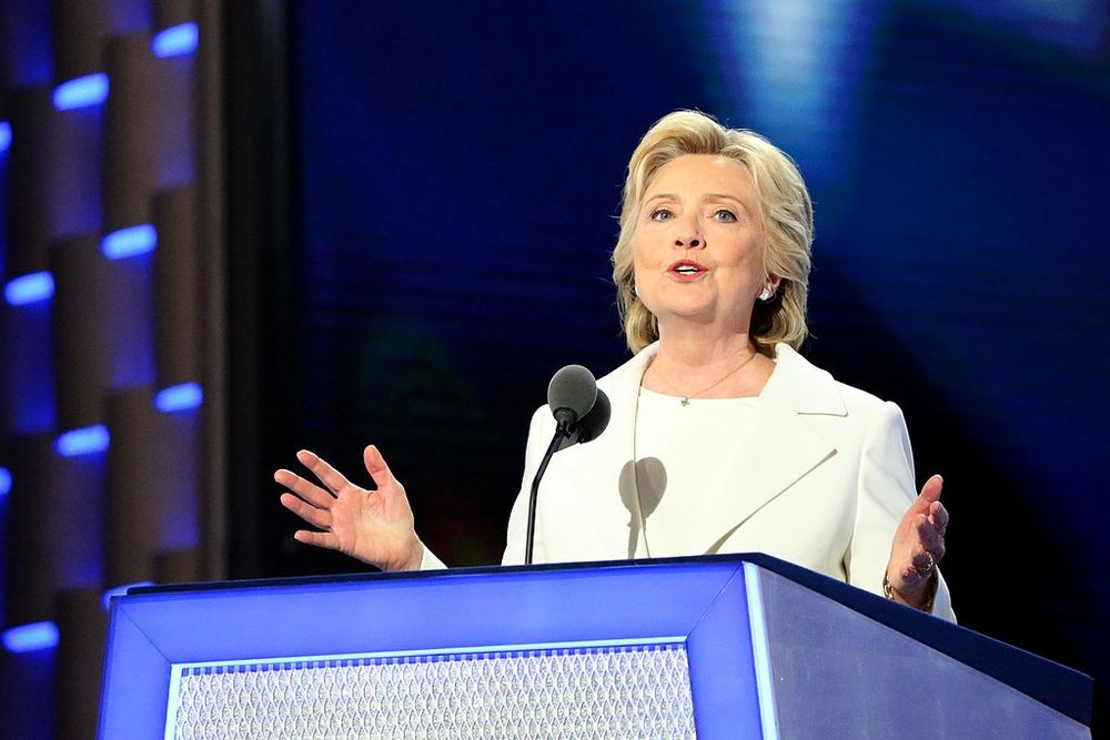 Hillary Clinton made history by accepting the Democratic Party's presidential nomination.