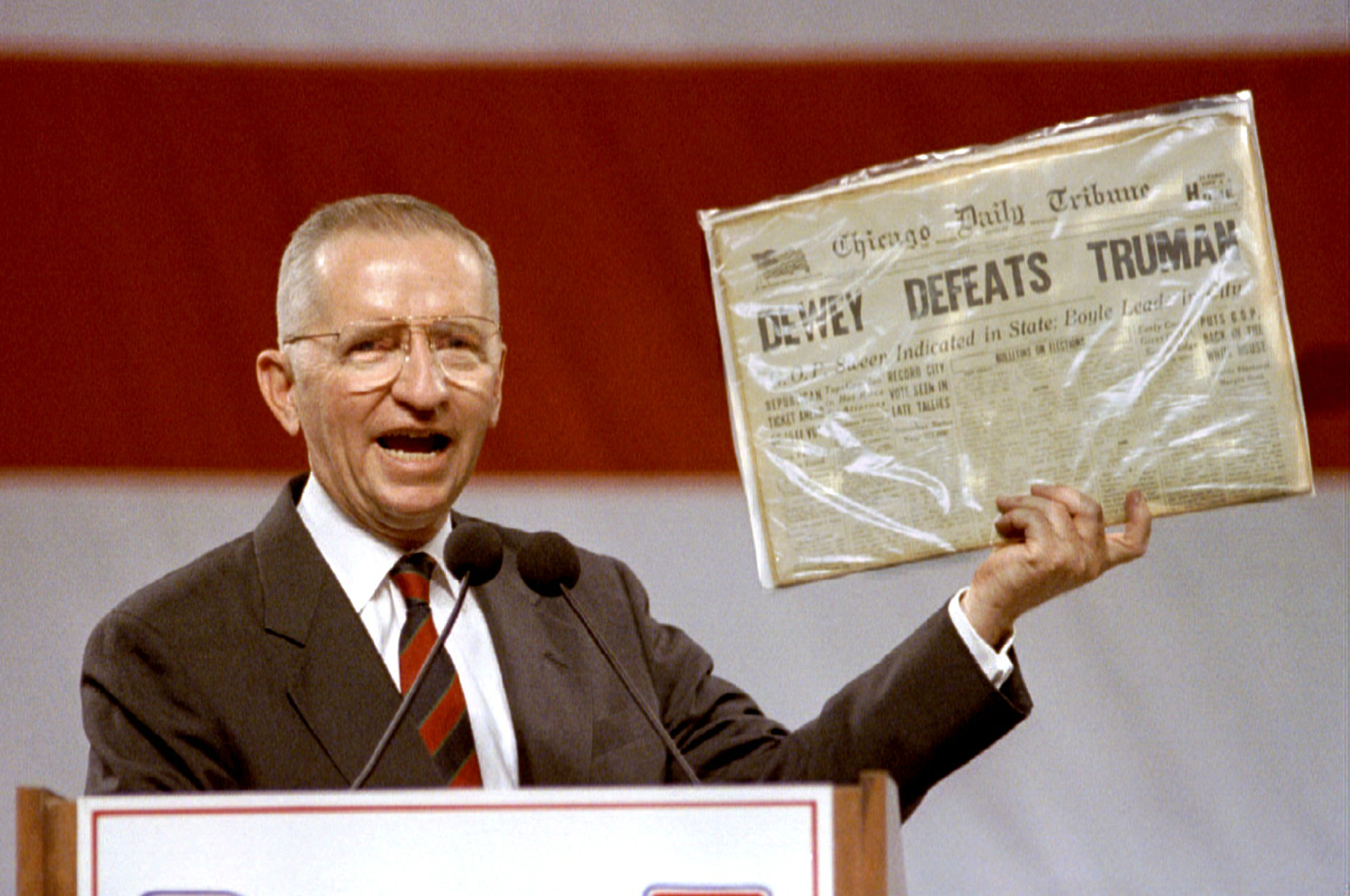 In 1992, Independent candidate H. Ross Perot positioned himself as a straight-talking businessman who was tough on bad trade deals.