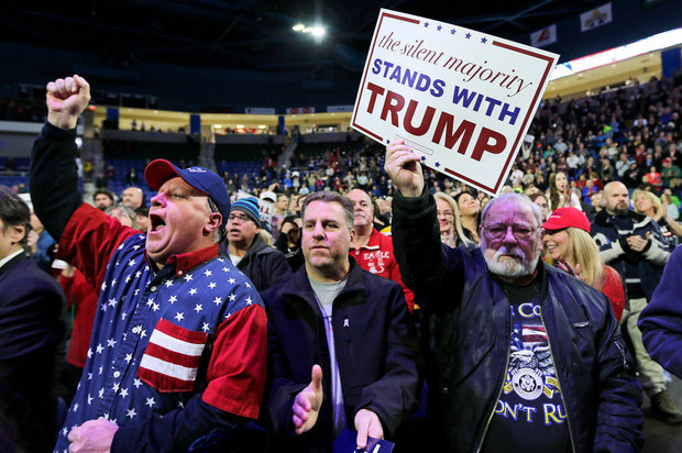 The majority of Trump supporters are old, white, male, and pissed off about stuff.