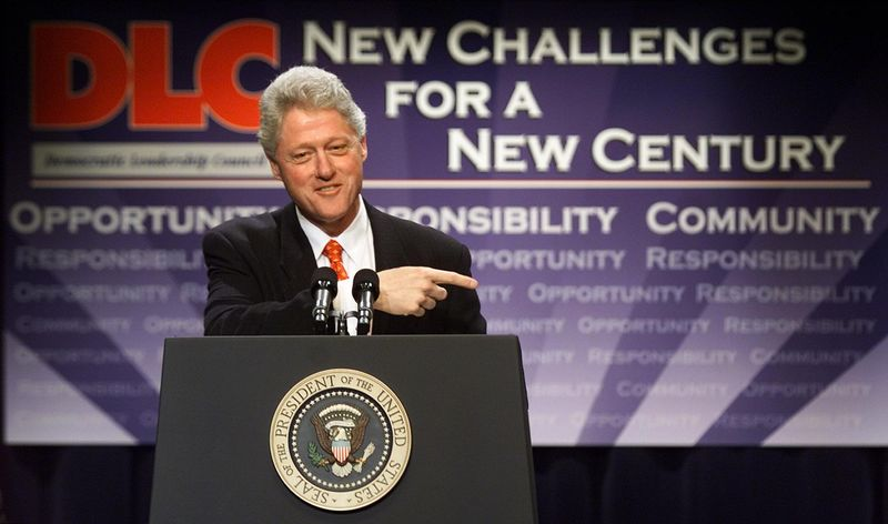 "Bill Clinton and the Democratic Leadership Committee (DLC) embodied right-leaning ""New Democrats"" that Trump ended up eating for lunch."