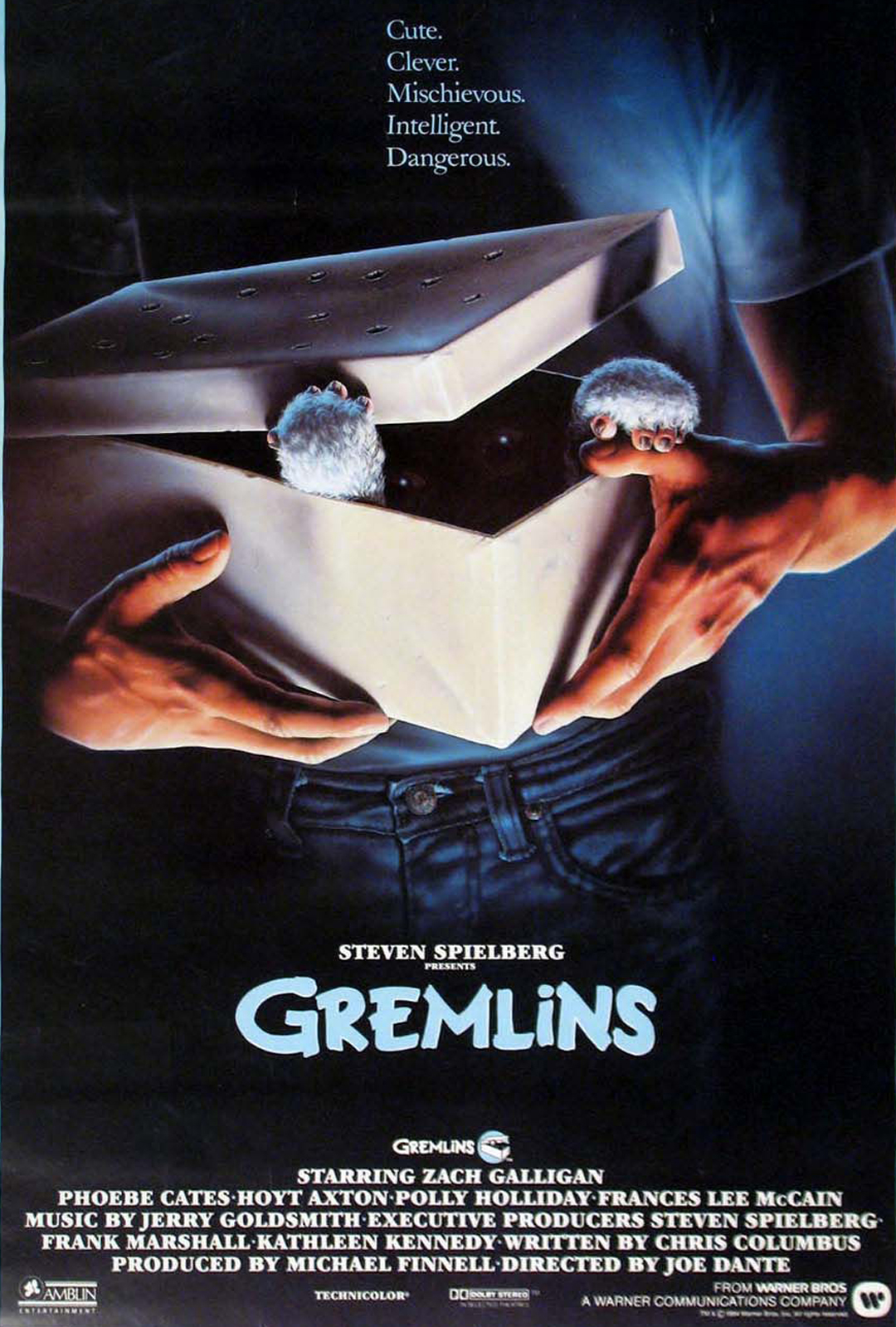 the 1984 holiday horror-comedy Gremlins envisioned a wholesome, small-town America besieged by nefarious outside forces.