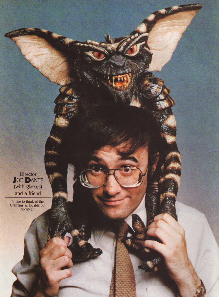 Joe Dante, director of Gremlins and arch American satirist.