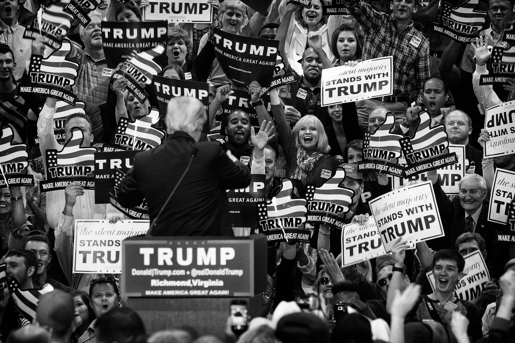 Donald Trump won because the Silent Majority got very loud.